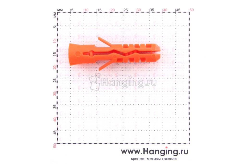 Размеры дюбеля Mungo (Мунго) 7х35 MN