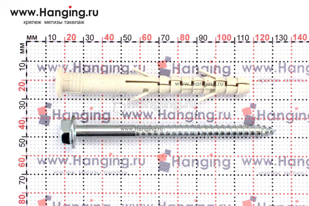 Размеры дюбеля Sormat S-UF 10х100