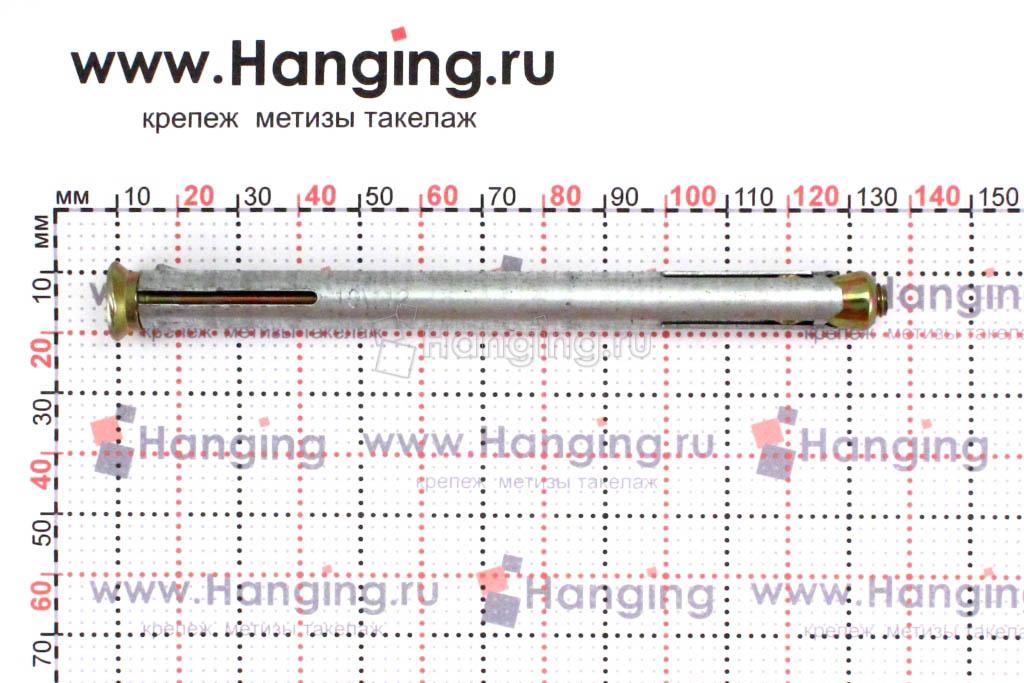 Размеры рамного анкера 10х112