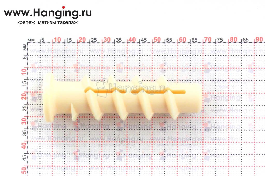 Размеры дюбеля для пенобетона и газобетона Сормат КБТ KBT 8