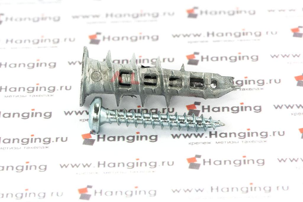 Дюбель для гипсокартона с шурупом Mungo MJP39-S