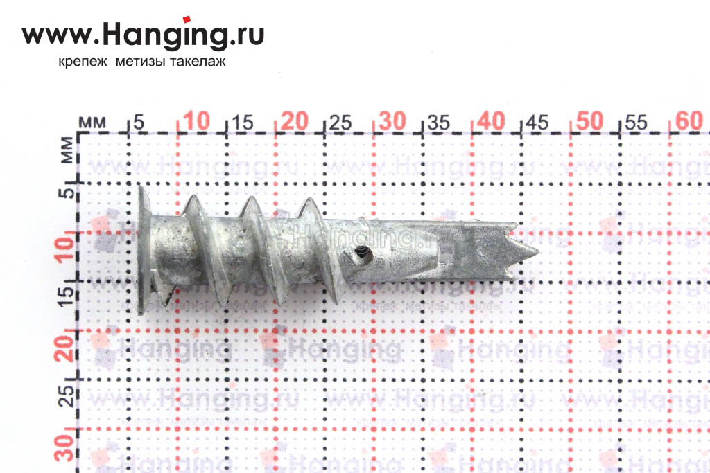 Размеры дюбеля для гипсокартона 15х38