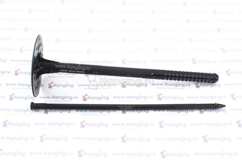 Дюбель для теплоизоляции 10*180 с пластмассовым стержнем