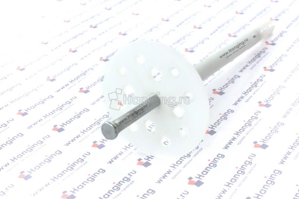 Дюбель для теплоизоляции с металлическим стержнем 10*160