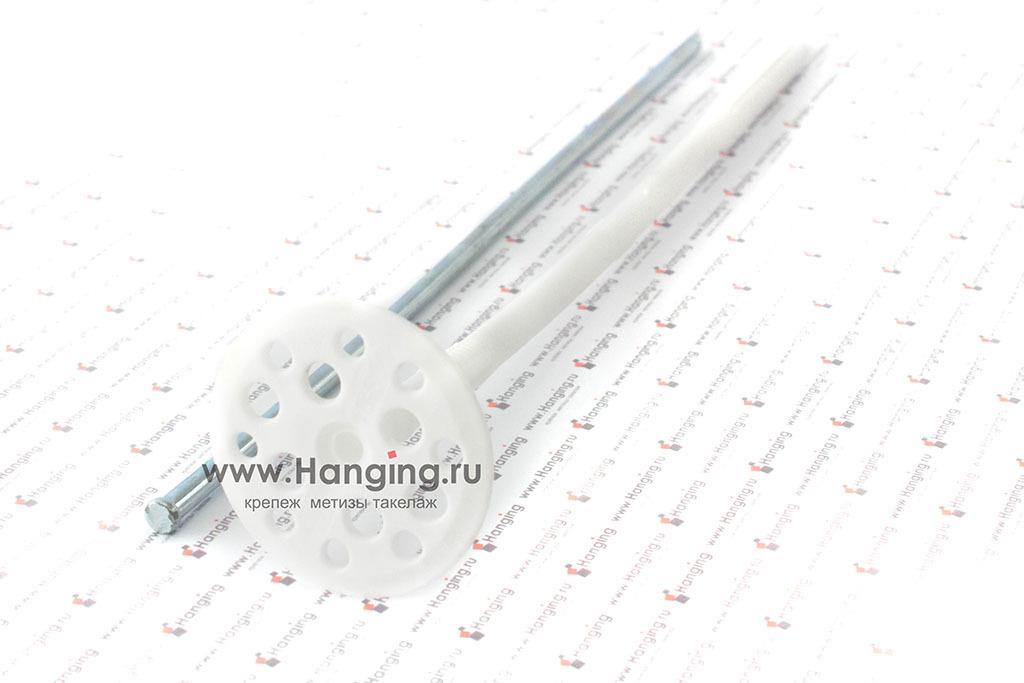 Дюбель для теплоизоляции с металлическим стержнем 10*300