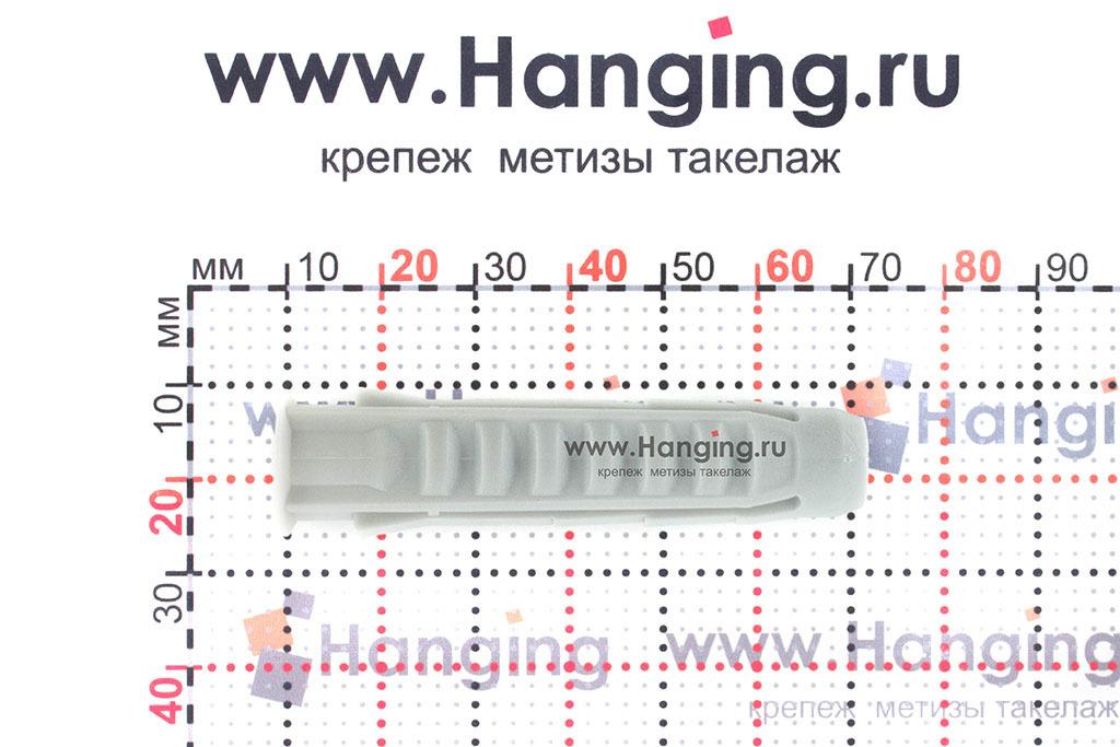 Размеры дюбеля из нейлона 12*60 мм Росдюбель тип Н