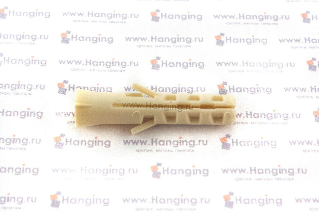 Шуруп-костыль 4х44 с дюбелем из нейлона 6х30