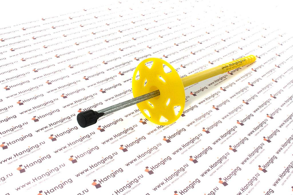 Дюбель для утеплителя с термоголовой БАУ-ФИКС TDMT 10*200 мм