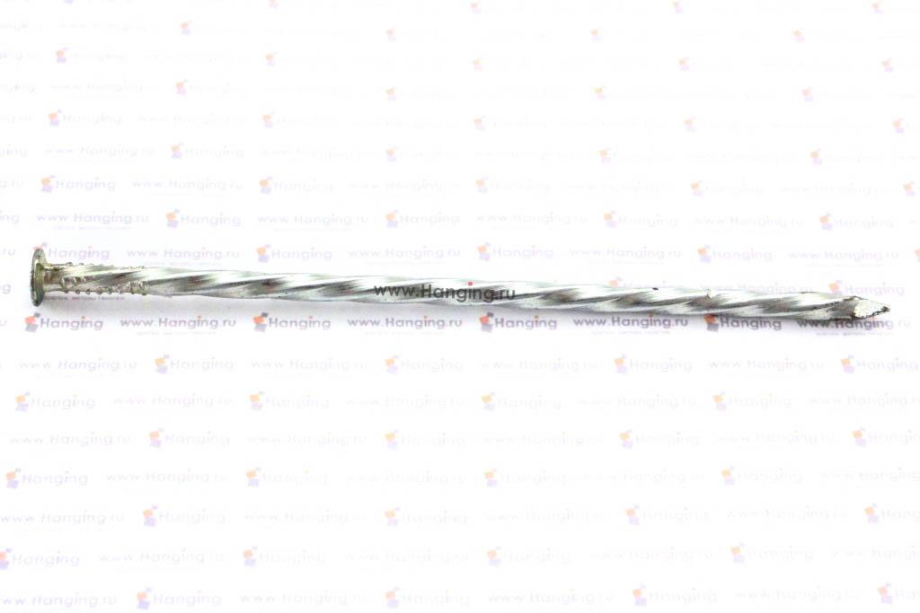 Гвозди винтовые 4х100 с полным винтом покрытые цинком