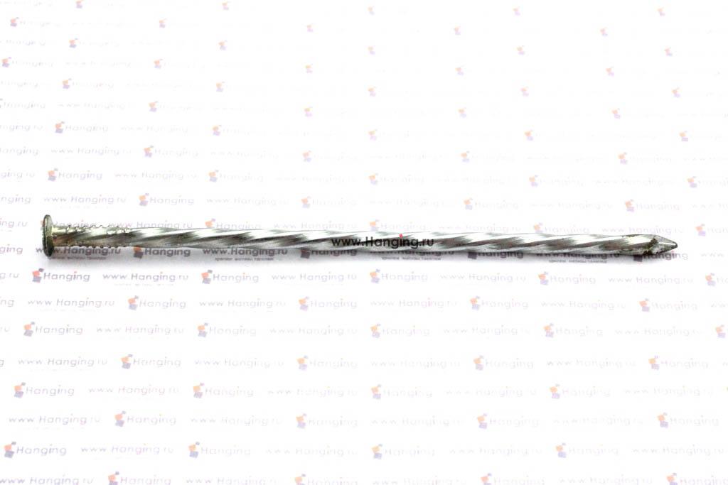 Гвозди винтовые 4х120 с полным винтом покрытые цинком