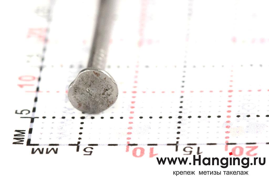Размеры гвоздя толевого 2х20 ГОСТ 4029-63