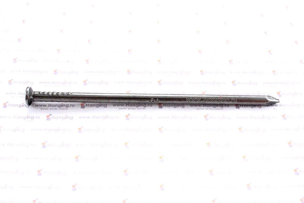 Строительный гвоздь с плоской конической (потайной) головкой 4х100 7811-7075 РМЗ
