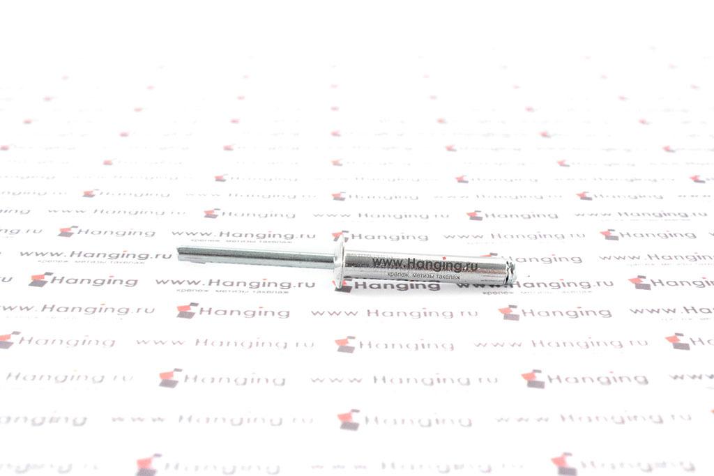 Вытяжная заклепка 4,8х28 алюминий