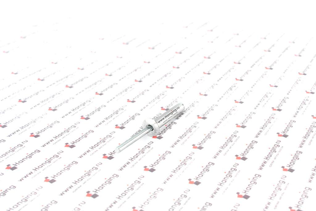 Заклепка вытяжная алюминиевая 4,8х28 DIN 7337 Form A
