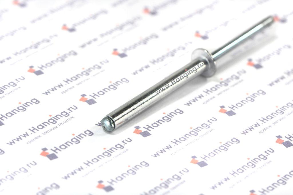 Заклепка вытяжная алюминиевая 4,8х40 DIN 7337 Form A