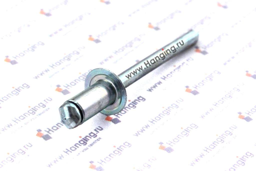 Заклепка вытяжная алюминиевая 5х10 DIN 7337 Form A