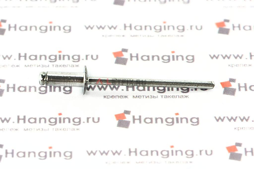 Заклепка вытяжные 3,2х8 алюминий/сталь