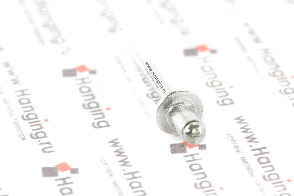 Вытяжная заклепка 4х6 алюминий/сталь