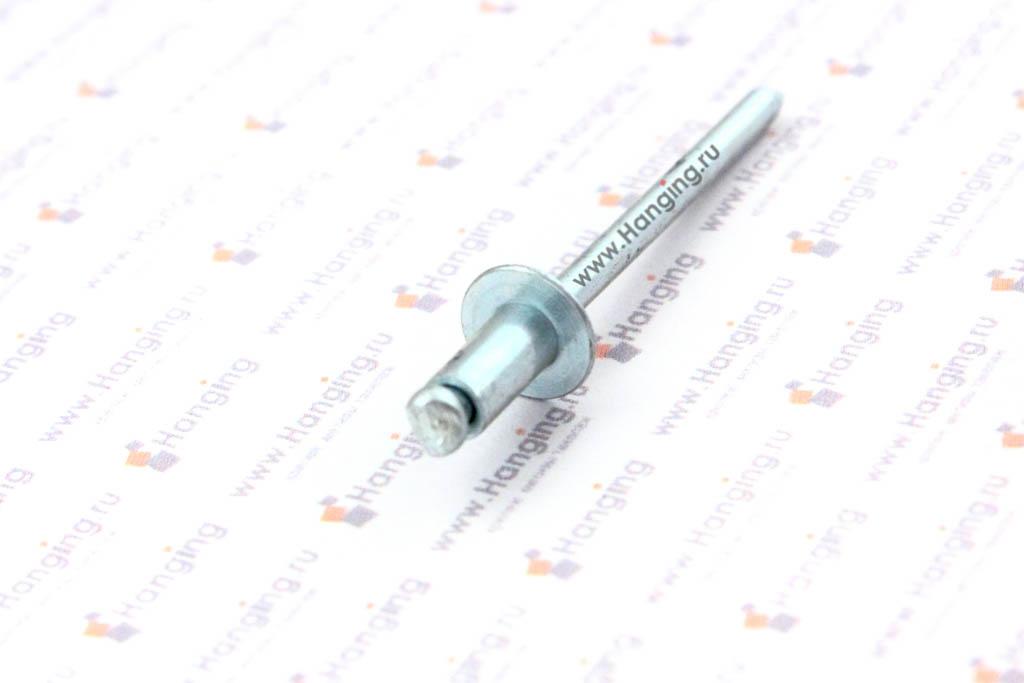 Вытяжная заклепка 4х8 алюминий/сталь