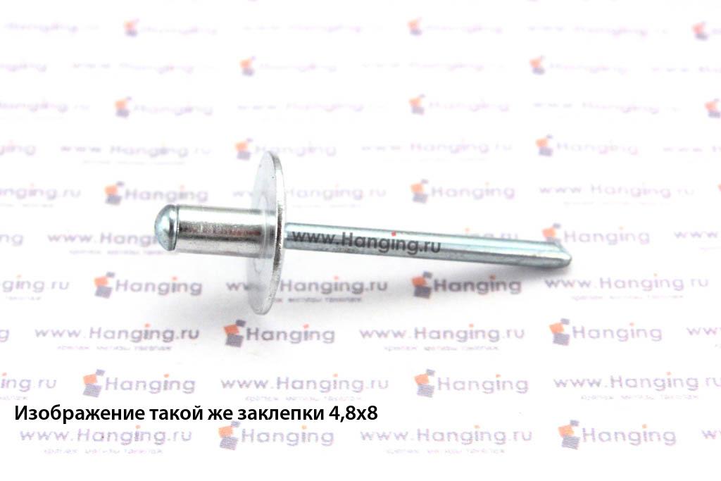 Заклепка вытяжные 4х30 алюминий/сталь