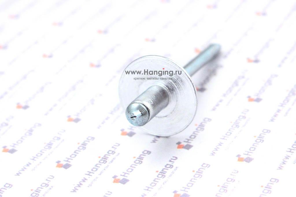 Вытяжная заклепка 4,8х8 алюминий/сталь