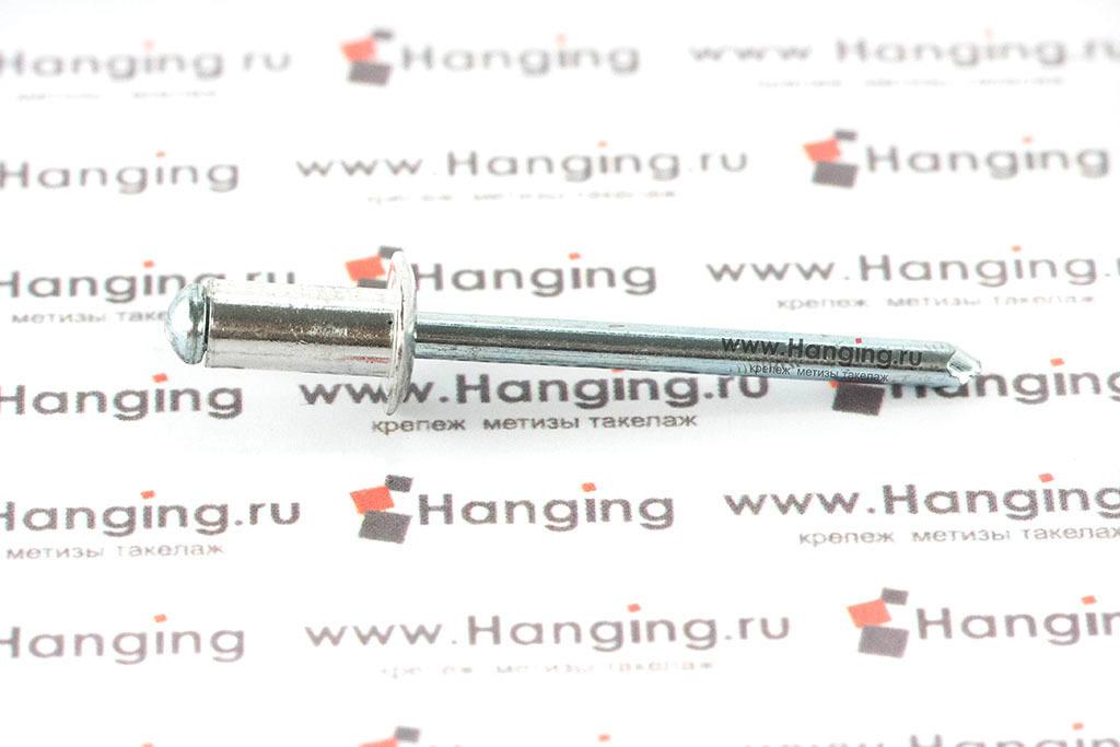 Заклепка вытяжные 5х10 алюминий/сталь