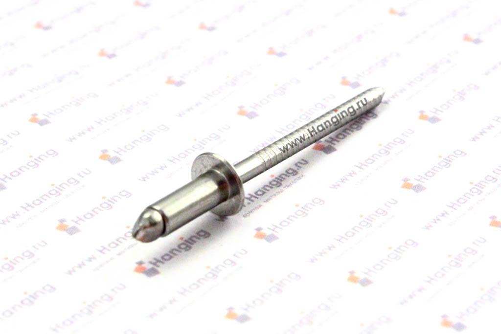 Заклепка вытяжная нержавеющая сталь 4х10 DIN 7337 Form A