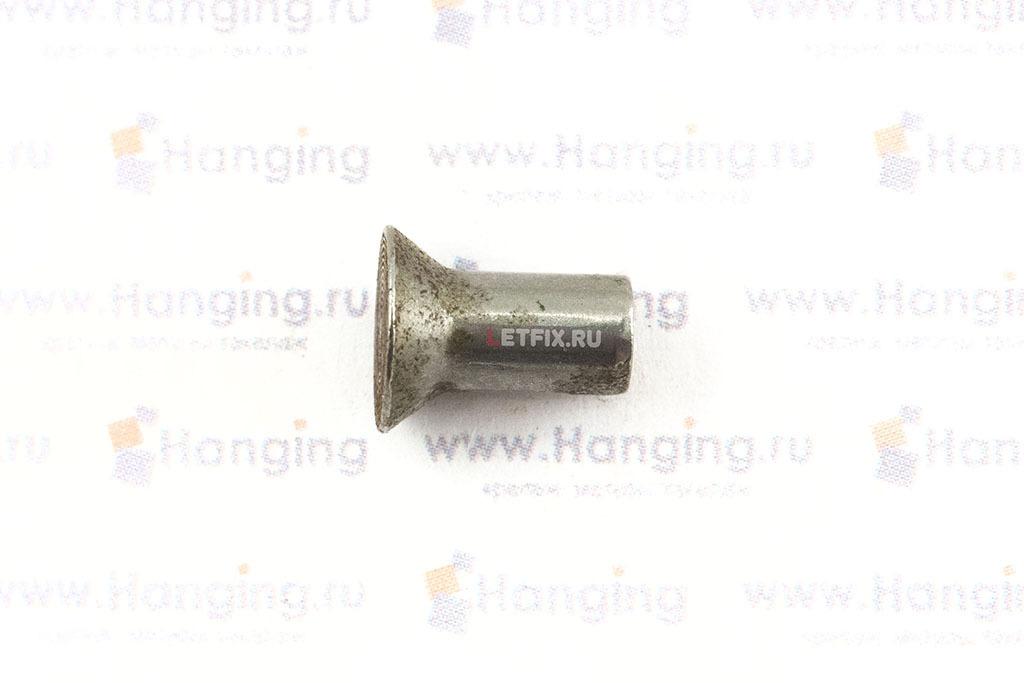 Заклепка стальная под молоток 5х10 с потайной головкой
