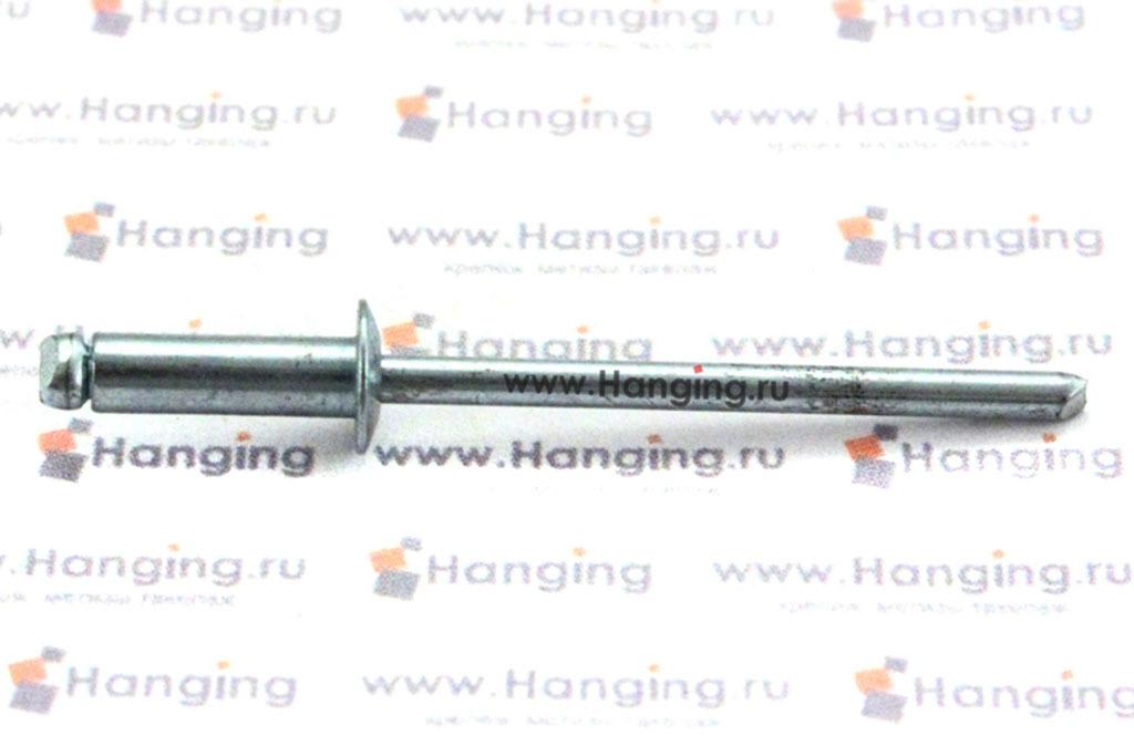 Вытяжная заклепка 3,2х10 сталь сталь Bralo