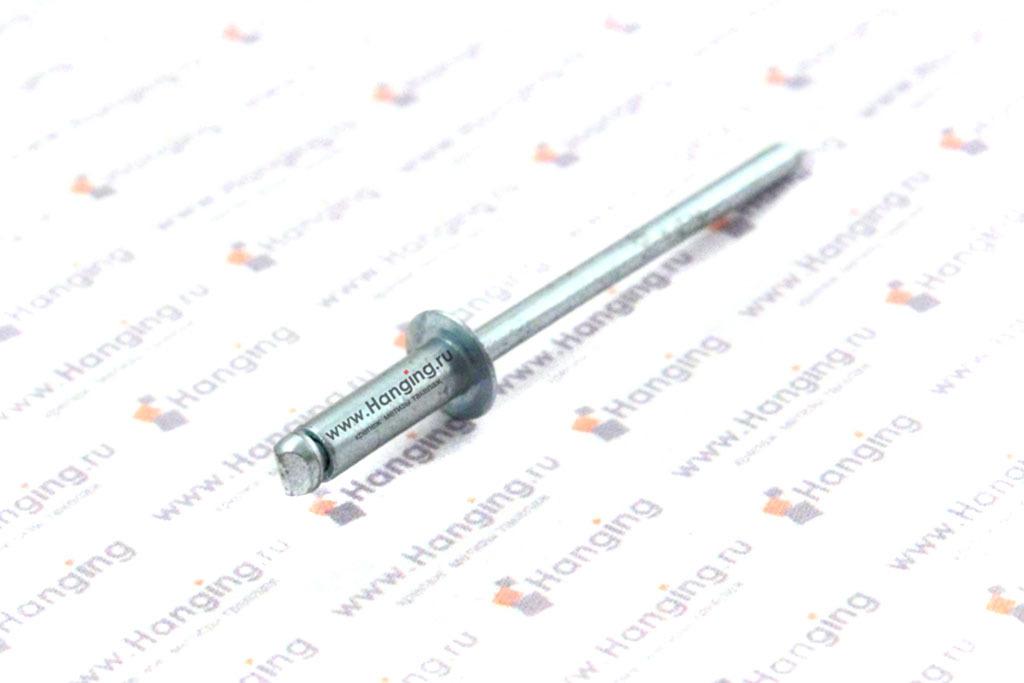 Заклепка вытяжная сталь сталь 3,2х10 Bralo
