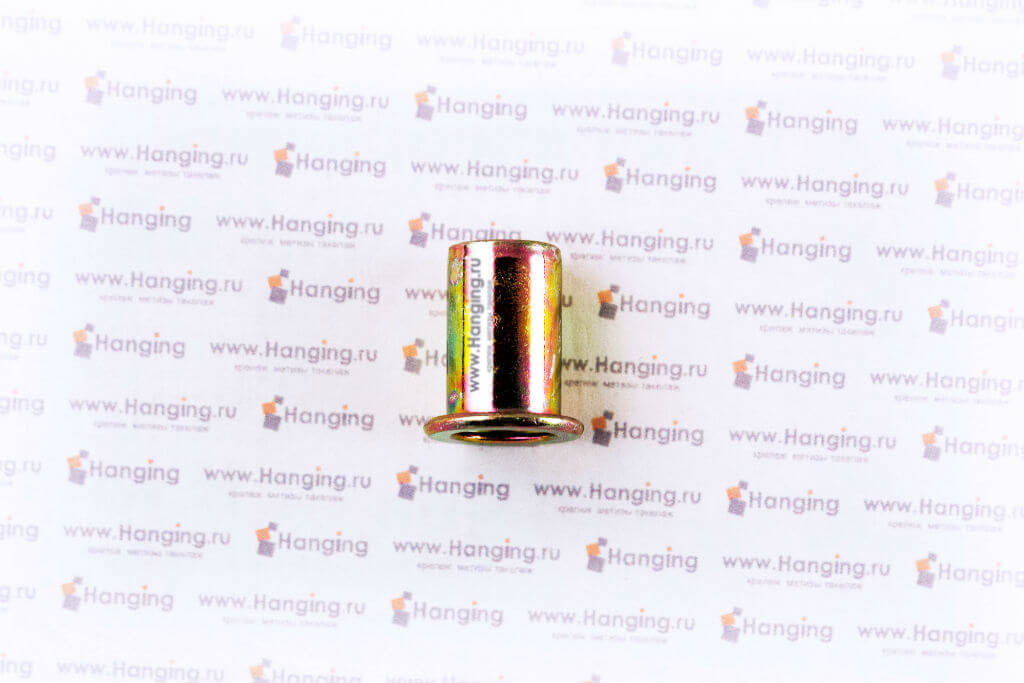 Заклёпки-гайки М8*19 цилиндрические стальные