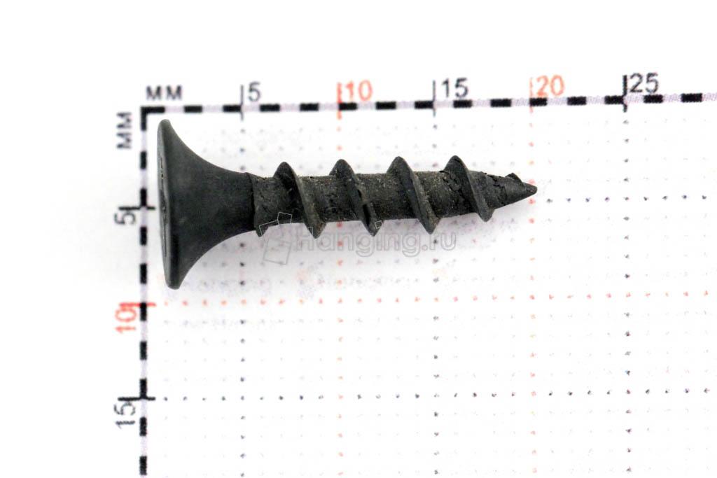 Саморез с крупной резьбой 3,5х19 размеры