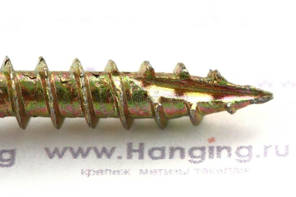 Просечка самореза 5х60 для плотных сортов дерева