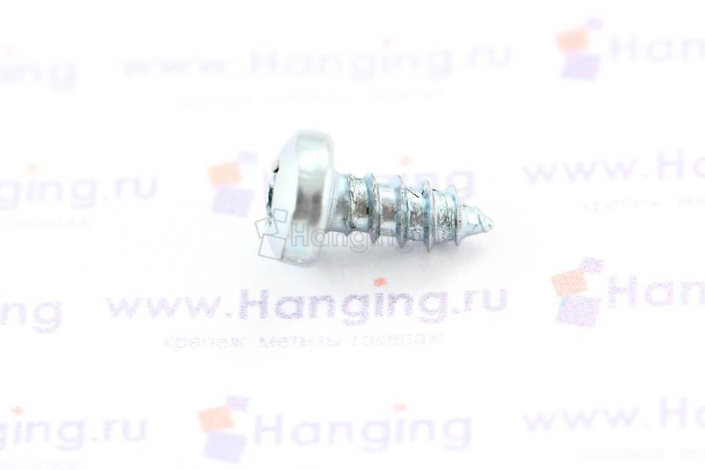 Саморез с полукруглой головкой 2,9х6,5 DIN 7981