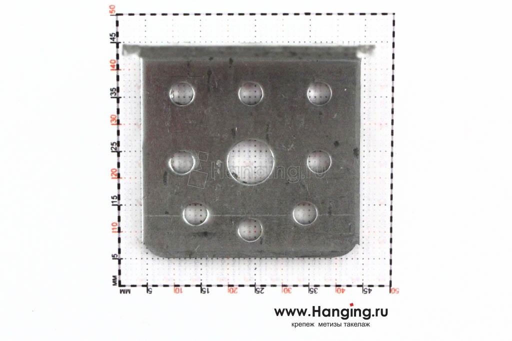 Размеры отверстий монтажного уголка 40х40х40
