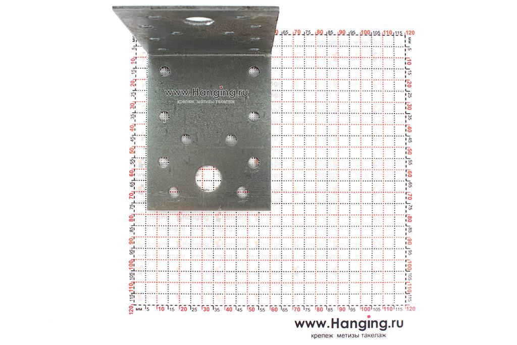 Размеры отверстий монтажного уголка 70х70х55