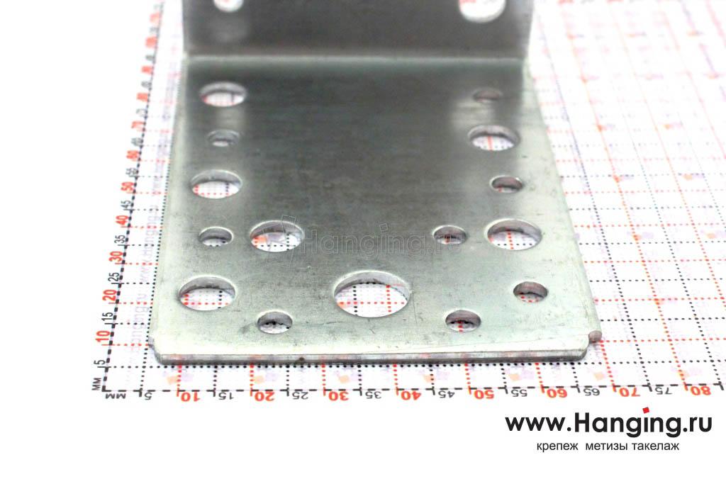 Размеры сторон уголка монтажного 90х90х65