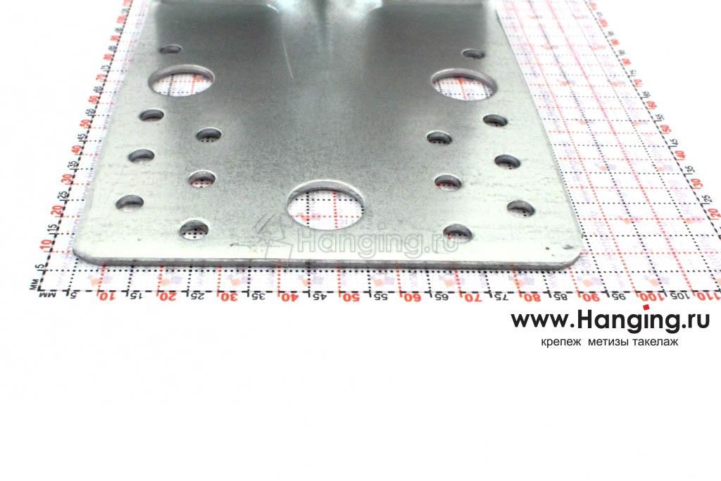 Размеры сторон уголка усиленного 105х105х90