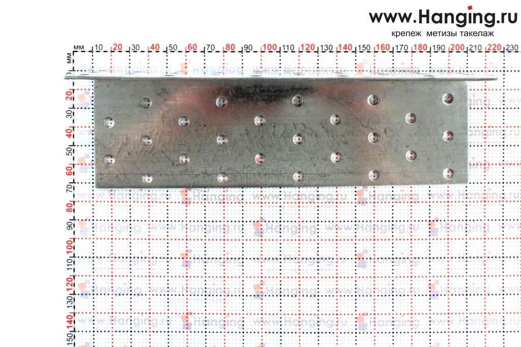 Размеры отверстий крепежного уголка 60х60х200х2