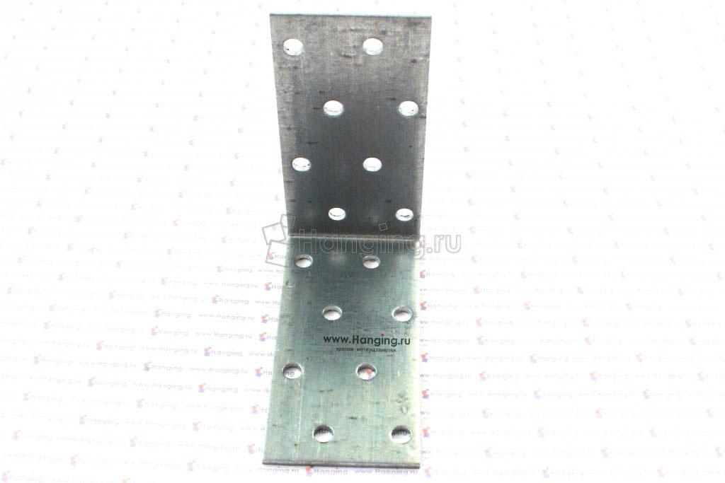 Уголок металлический перфорированный 80*80*40