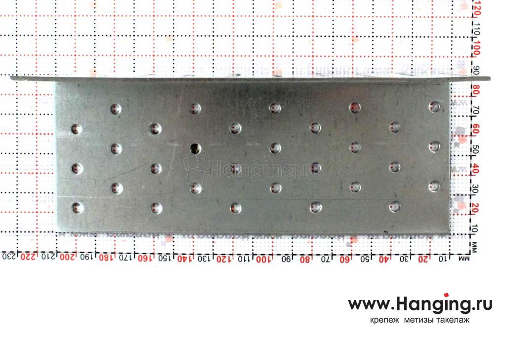 Размеры отверстий крепежного уголка 80х80х200х2