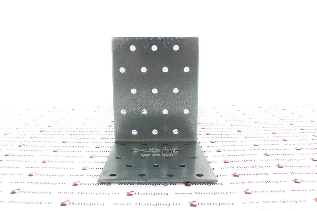 Уголок крепежный перфорированный 100х100х80х2