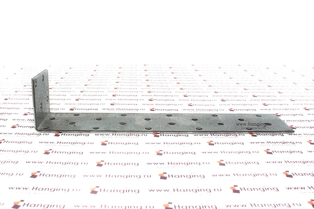 Уголок неравносторонний крепежный 200х40х40х2