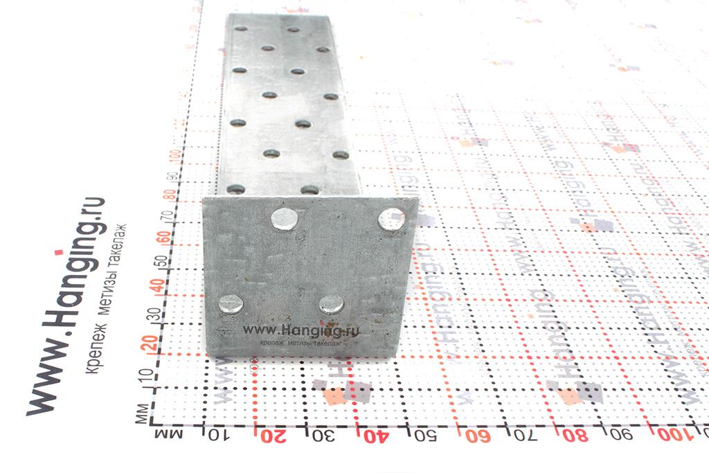 Сторона уголка неравностороннего крепежного 200х40х40х2