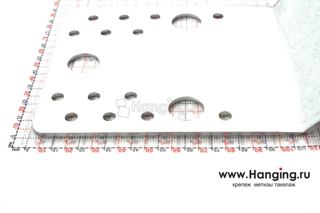 Размер стороны уголка монтажного 135 105х105х90х2