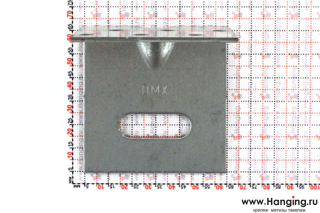 Размеры отверстий уголка крепежного скользящего 60х60х60х2