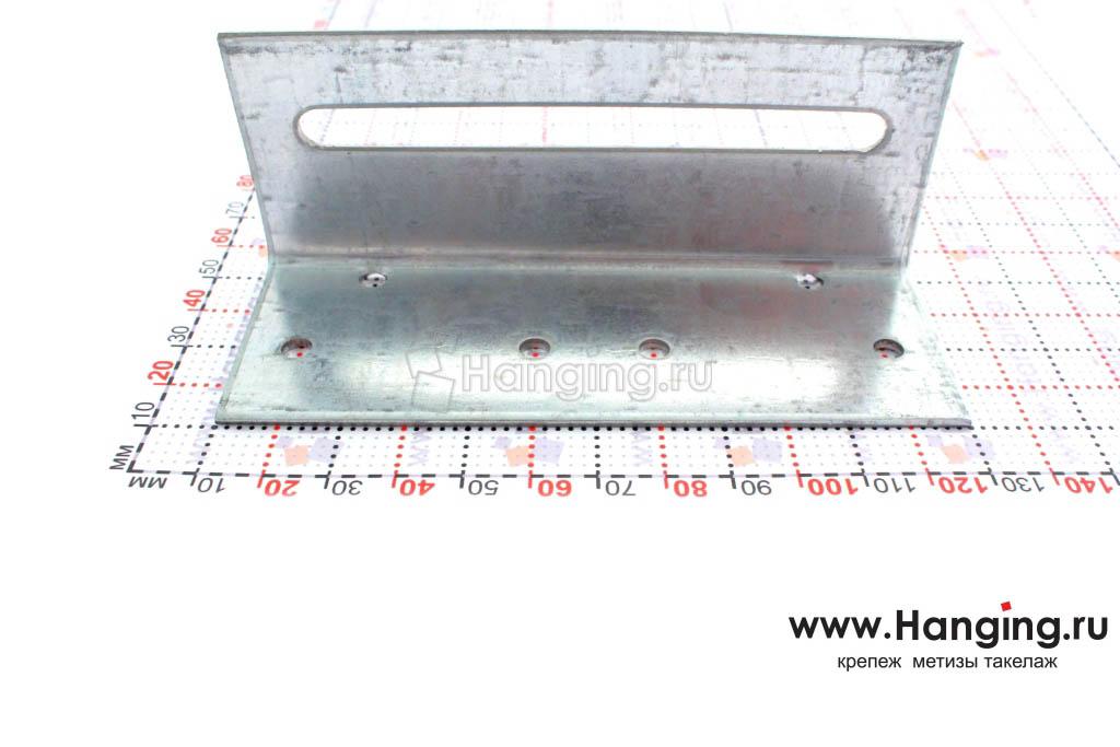 Размер сторон уголка скользящего крепежного 40х40х120