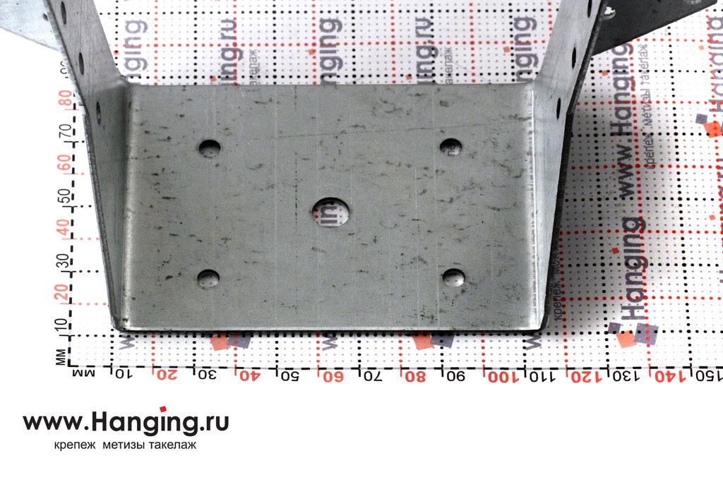 Основание опоры бруса раскрытой 100х140