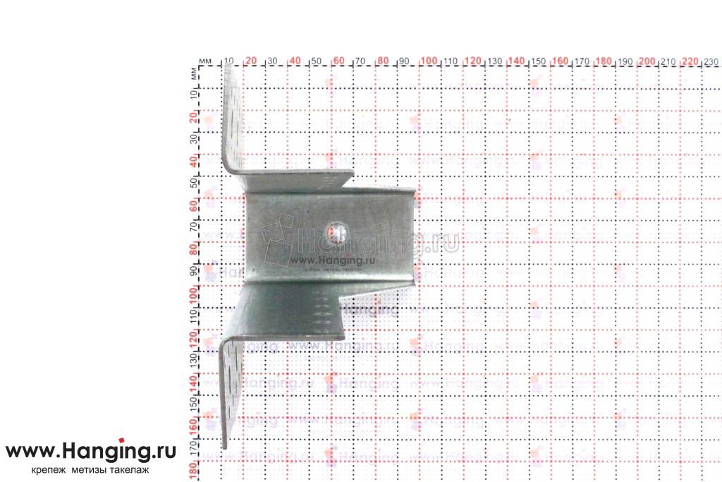 Опора бруса 40 миллиметров высотой 145 мм