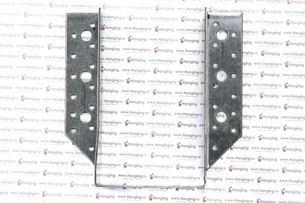 Открытая опора высотой 170 мм под брус 100 мм